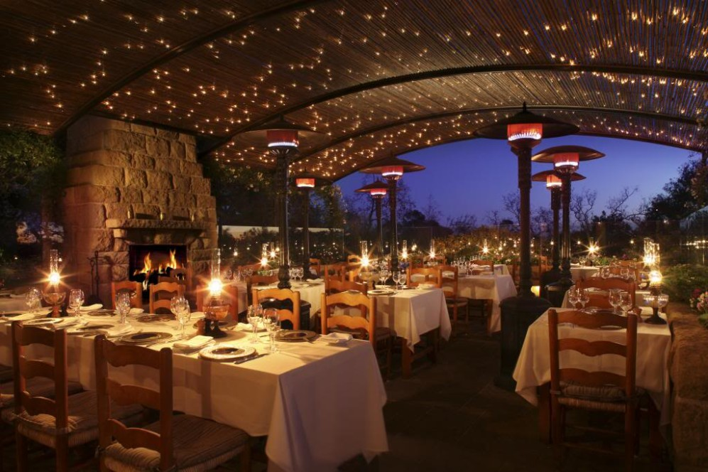 San ysidro ranch montecito california posh voyage for Romantic restaurants in california