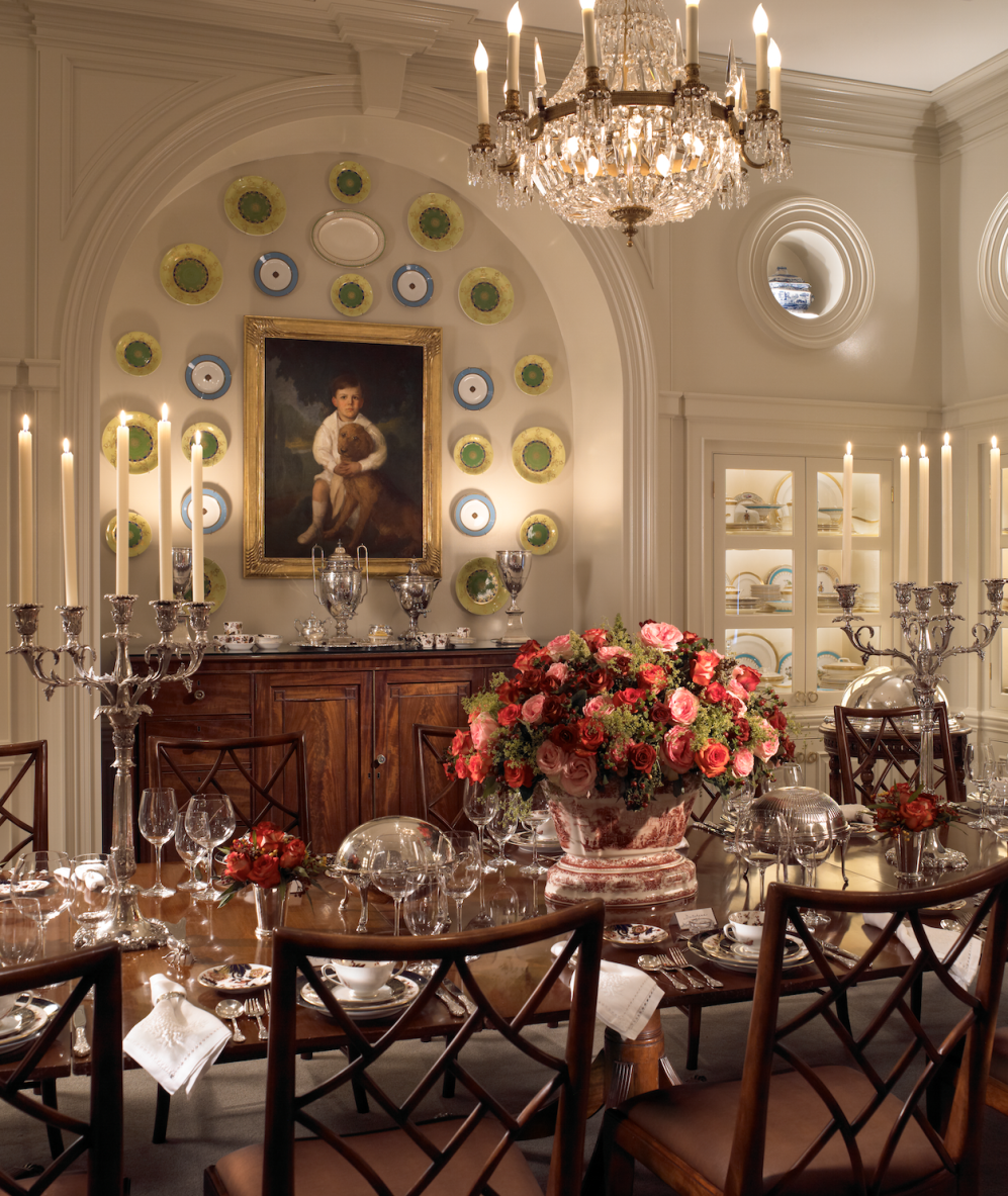 Elegant Dining Rooms: Glenmere Mansion. Chester, New York